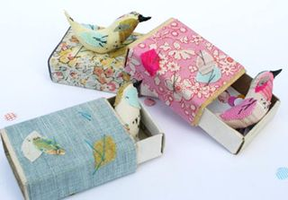 Match box birds abigail brown